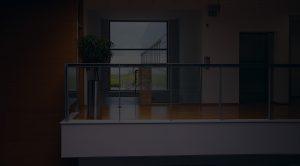 commercial building interior